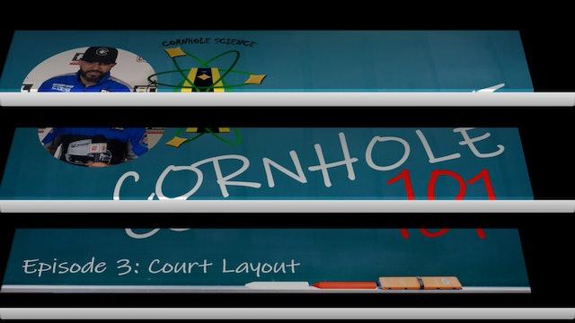Cornhole Science: Court Layout Corhole 101