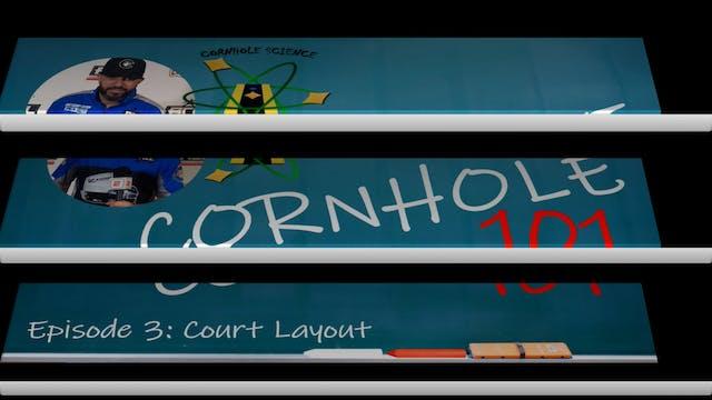 Cornhole Science: Court Layout Corhol...