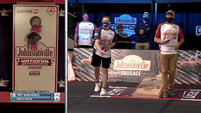 Trey Burchfield 2 Airmails USA Cornhole