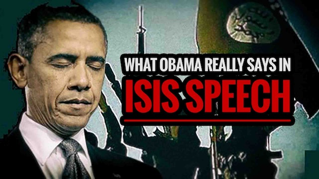 What Obama REALLY Says in ISIS Speech