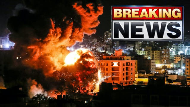 BREAKING!! ISRAEL LAUNCHES ATTACK AGA...