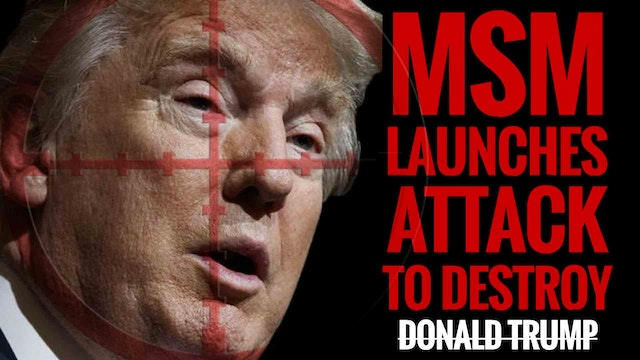 MSM Launches Attack to Destroy Donald...