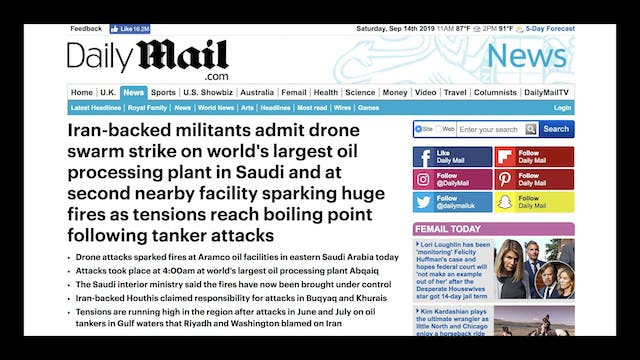 MAJOR ATTACK FALSE FLAG!! SAUDI OIL D...