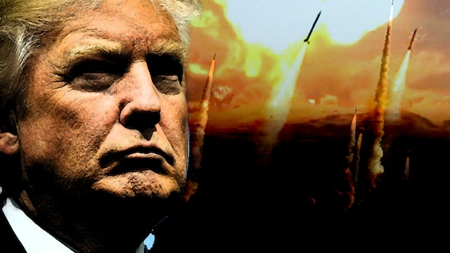 TRUMP LAUNCHES AIRSTRIKES ON SYRIA