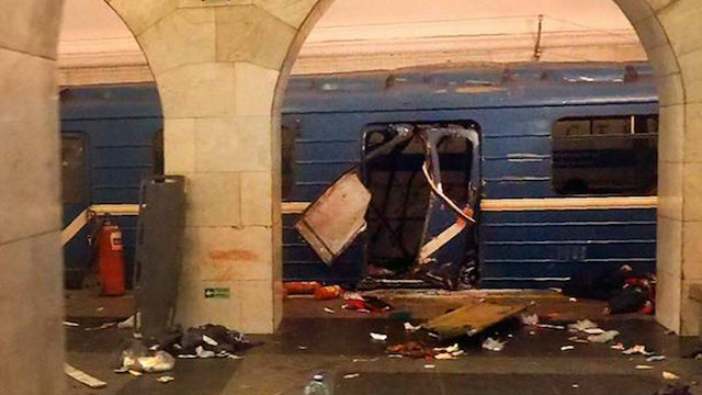 BREAKING... RUSSIA SUBWAY BLAST, ISIS...