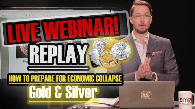 How to Prepare for Economic Collapse: Profit w/ Gold & Silver