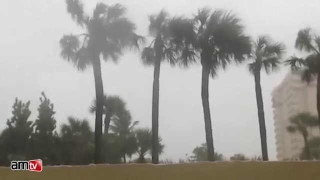 Live Footage as Hurricane Irma Approa...