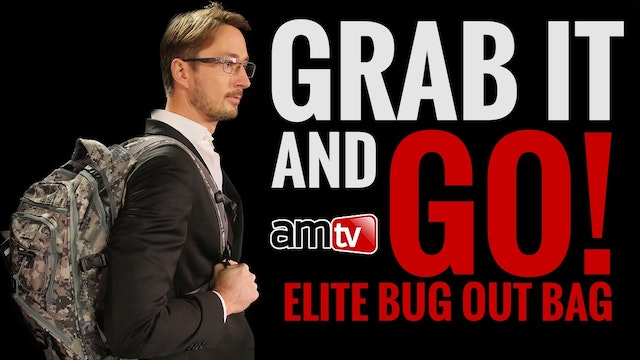GRAB IT & GO! ELITE BUG OUT BAG SHOCK...