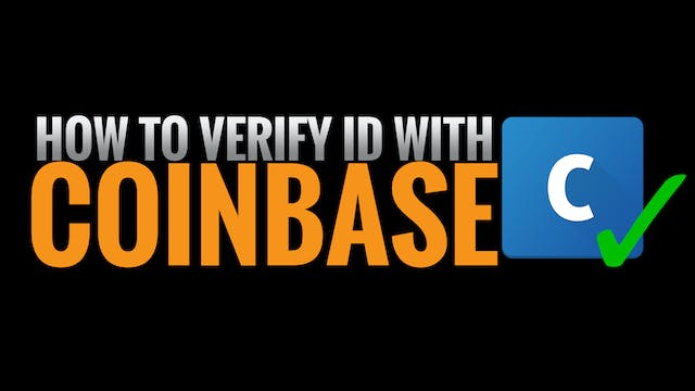 3. How to Verify ID with Coinbase