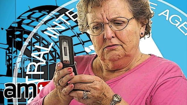 PROOF: CIA BUGS GRANDMA'S IPHONE AND WATCHES YOU MASTURBATE!