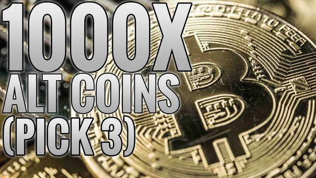 My Top 3 Alt-Coin Picks 1000X Returns Pick 3