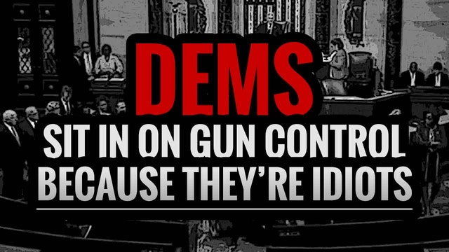 Dems Sit in on Gun control because th...