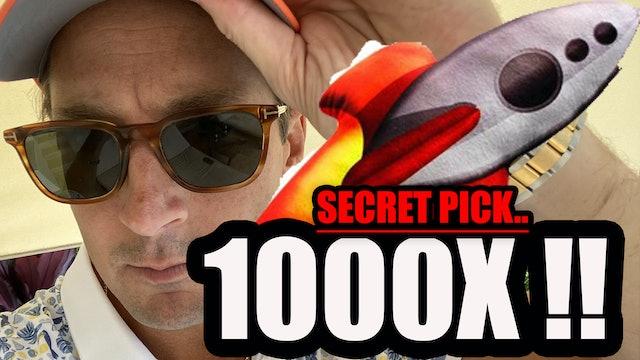 NEW 1000x PICK.. Very Big REVEAL... (Secret Pick)