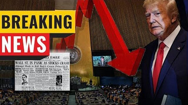 GLOBALISTS PLAN MASSIVE ECONOMIC COLLAPSE!! BLAME TRUMP!