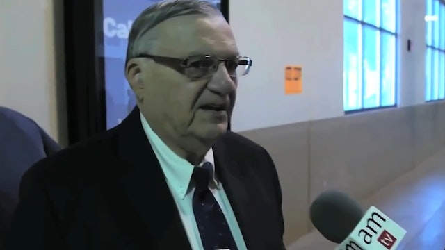 Sheriff Arpaio Denies Ongoing Crimina...