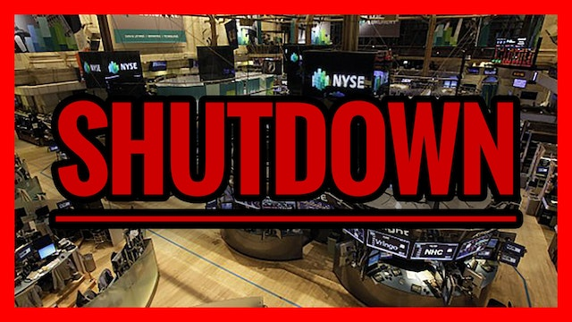 BREAKING: NYSE Shutdown, No Panic Yet
