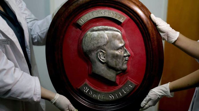 Mysterious Nazi Artifacts Revive Adol...