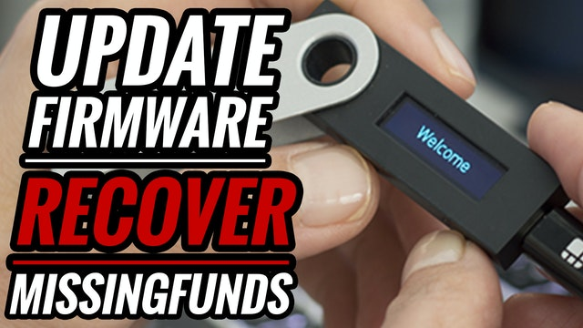 How to Install Ledger Firmware Update/Lost Funds