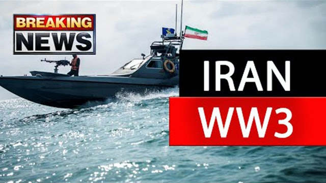 IRAN ATTACK IMMINENT!! US NAVY FLEET POSITIONING NOW!! (Warning)