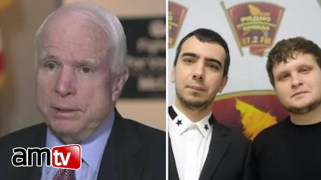 EXPOSED! Russian Hackers Prank McCain...