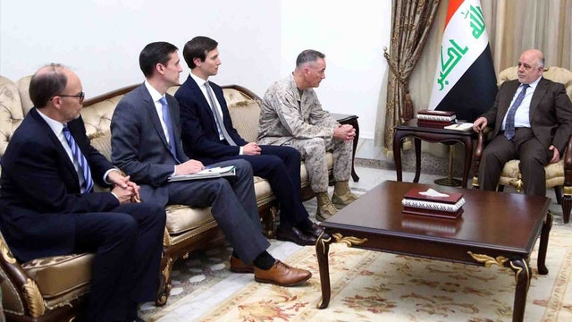 WHAT IS JARED KUSHNER DOING IN IRAQ?