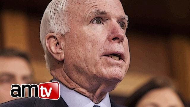 TRAITOROUS JOHN MCCAIN THROWS TEMPER ...