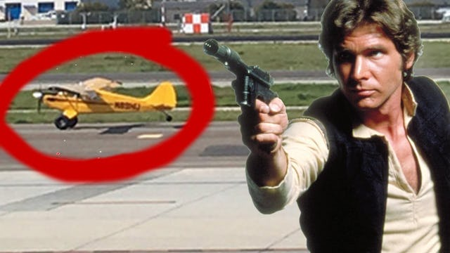 HARRISON FORD: THE SCHMUCK WHO LANDED ON THE TAXIWAY