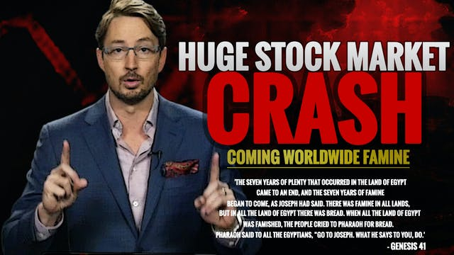A HUGE STOCK MARKET CRASH IS COMING!!...