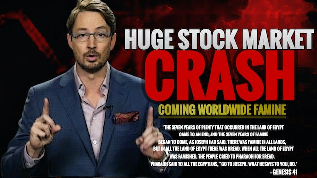 A HUGE STOCK MARKET CRASH IS COMING!! FAMINE IN AMERICA WARNING... (2018-2025)