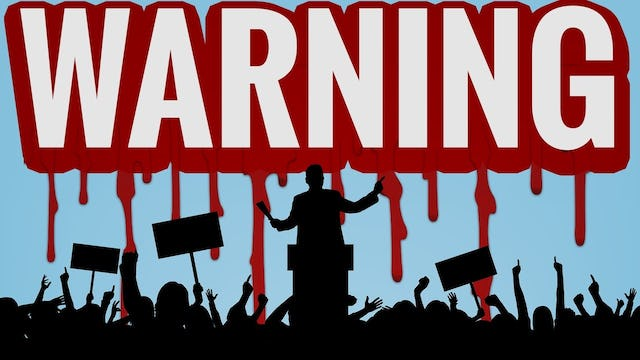 WARNING: POLITICIANS WACK PEOPLE ALL THE TIME