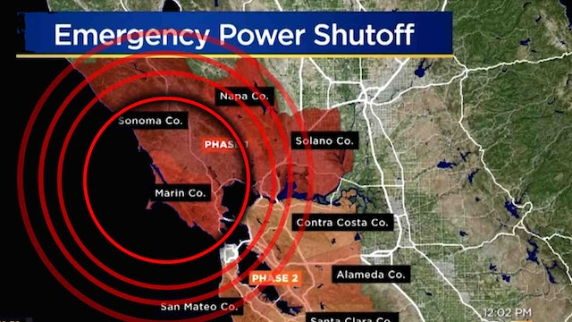 POWER GOES OUT IN CALIFORNIA!! 2 MILLION PEOPLE IN A STATE OF PANIC!!