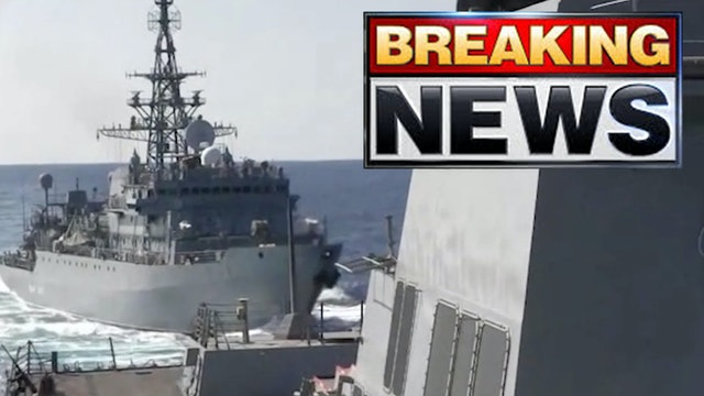 BREAKING! U.S. NAVY DESTROYER CONFRONTS RUSSIAN SHIP! PERSIAN GULF ON THE BRINK!