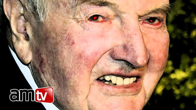 CONSPIRACY: David Rockefeller NOT Dead but a Reptilian Shapeshifter