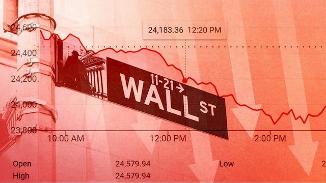 A MAJOR ECONOMIC COLLAPSE COMING