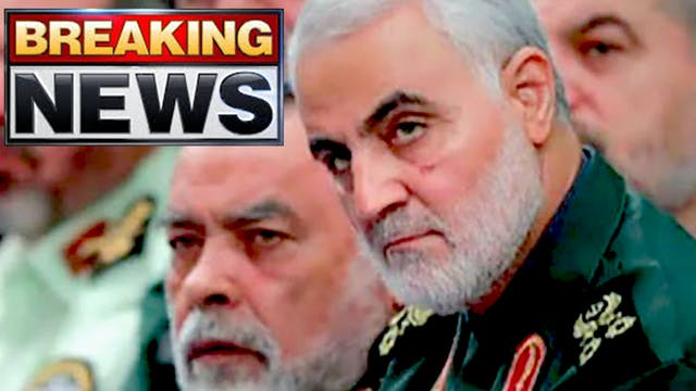 IRAN SECRETLY TIPPED OFF TRUMP!! SOLE...