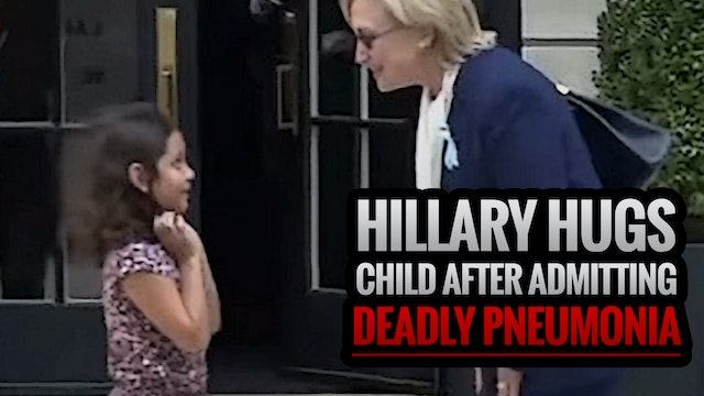 Hillary Hugs Child After Admitting DE...