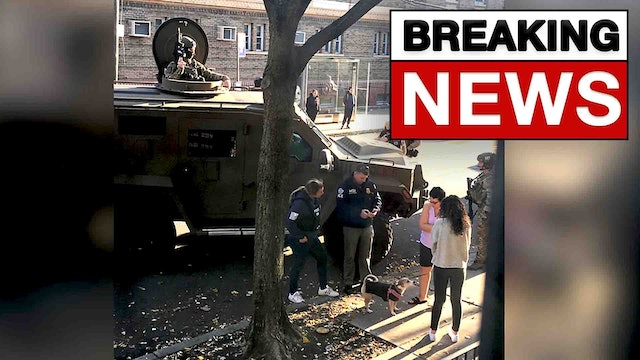 BREAKING! MILITARY ROLLS OUT TANKS IN QUEENS, CONFISCATION HAS STARTED!