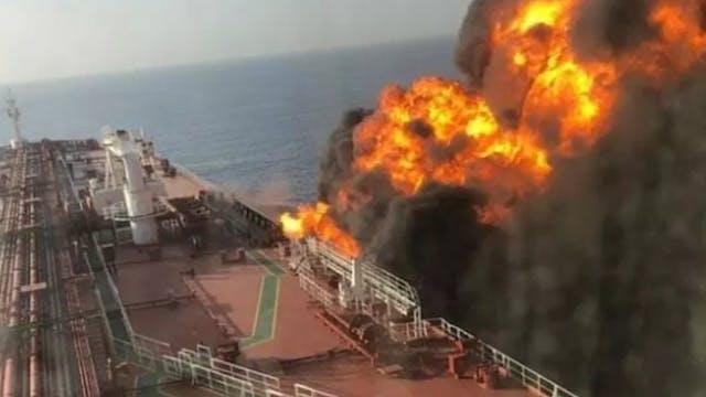 IRAN ATTACKS US LINKED SHIPS!! MAJOR ...