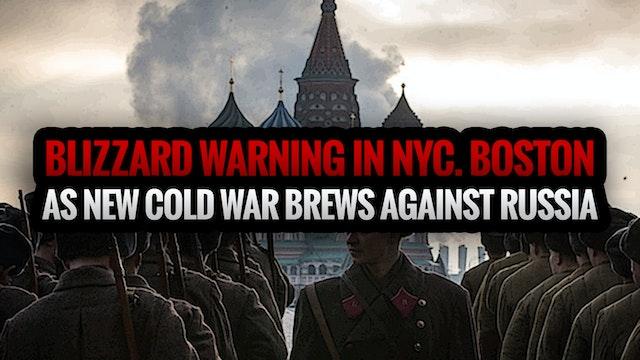 BLIZZARD WARNING IN NYC, BOSTON AS NE...
