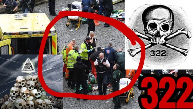 LONDON TERROR: SKULL AND BONES BL**D ...