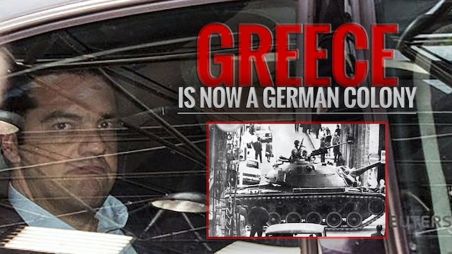 GREECE IS NOW A GERMAN COLONY