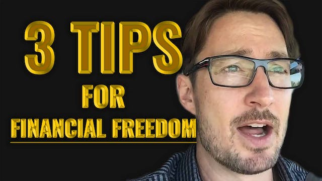 3 Tips for Financial Freedom