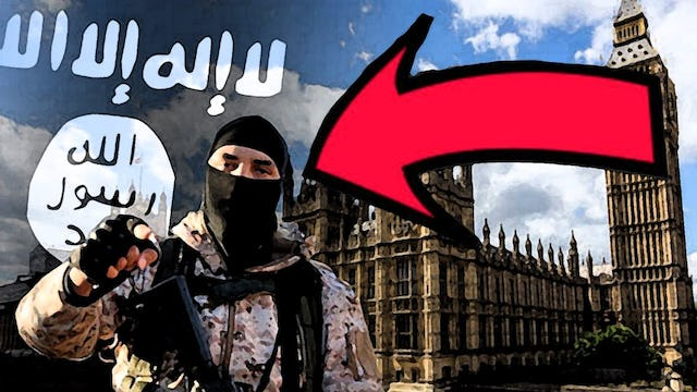 INCONSISTENCY: MSM SEARCHING FOR LONDON SUSPECT???