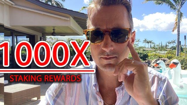 (SEP 4, 2021) STAKING 1000X!!! - HUGE...