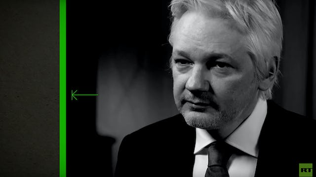 Julian Assange to Speak Prerecorded RT Interview (11/5/16)