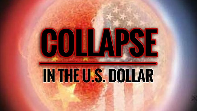 Overnight Collapse in the U.S. Dollar...