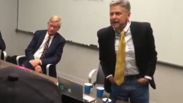 Gary Johnson Gives 'FAKE' Rant on For...
