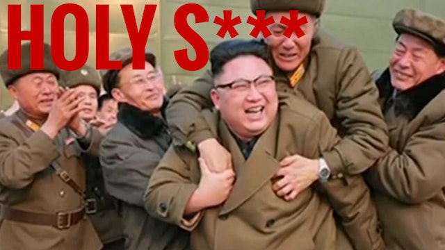 HOLY SH*T!! KIM JONG-UN BLOWS UP US A...