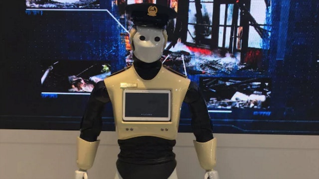 REAL-LIFE ROBOCOPS TO REPLACE MILITAR...