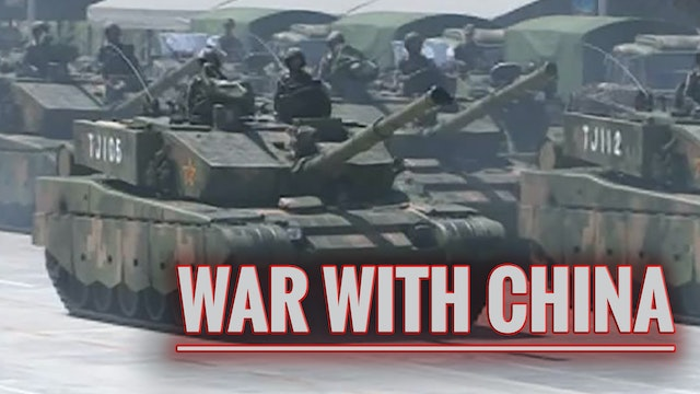 WAR WITH CHINA IS FAST APPROACHING...